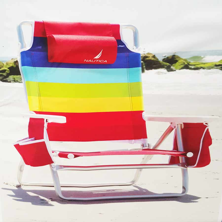 Wondrous Nautica Rainbow Beach Chair Gmtry Best Dining Table And Chair Ideas Images Gmtryco