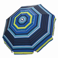 New 2014 Nautica 7ft Beach Umbrella Stripe