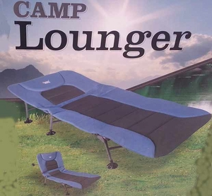 New 2014 Timber Ridge Blue Camp Lounger