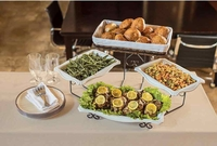New 3-Tierd Buffet Server with removable Platters
