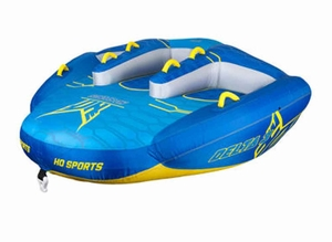 New Delta 3 Towable Boat Tube with pump and rope included