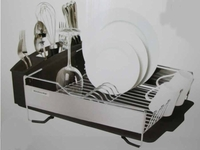 New Kitchen Aid Gray large capacity Dish Drying Rack