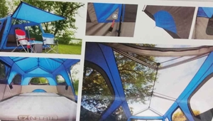 Nine Person Instant Shelter Tent 14 x 9