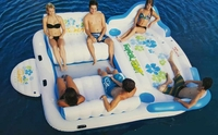 Oversized Inflatable Floating Island Raff