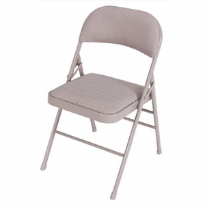 padded fabric folding chair