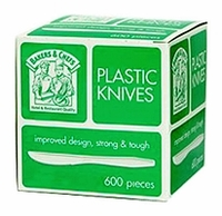 Plastic Knives - 600ct / Bakers Chefs