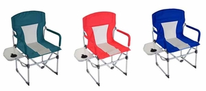 Portable Director's Chair - Red or Blue