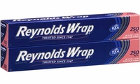 Reynolds Wrap Aluminum Foil - 250 sq. ft. - 2 ct