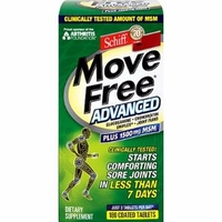 Schiff Move Free Advanced Plus MSM - 180 Tablets