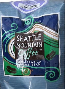 Seattle Mountain Coffee - Colombian Supremo - Whole Beans - 2.5 Lbs