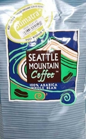 Seattle Mountain Full Bodied Taste Organic Sumatra Coffee Beans 2.5lbs