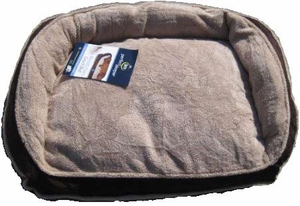 "Sertapedic Memory Foam Pet Bed 40"" X 29"" Sleep Technology for Your Pet - Brown"
