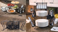 Seven-Piece Stackable Buffet Caddy
