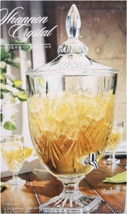 Shannon Crystal Beverage Dispenser