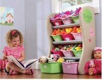 Step2 Fun Time Room Organizer - Pink Instock