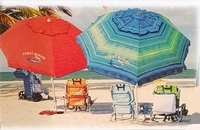 Sunshade Tommy Bahama 7 Foot Beach Umbrella