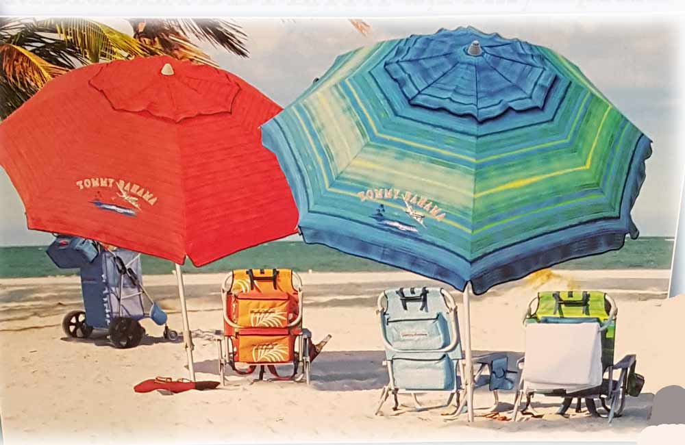Don T Spoil Your Day In The Beach Buy Tommy Beach Umbrella