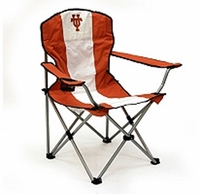 Texas Longhorn Tailgate folding Arm college logo chair