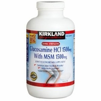 The Extra Strength Glucosamine HCI 1500mg, With MSM 1500 mg