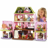 The fisher price doll house - loving family dollhouse