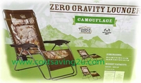 Timber Ridge Zero Gravity Camouflage Lounger Chair New 2014
