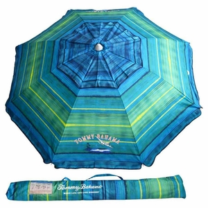 Tommy Bahama Beach Umbrella - with Sand Anchor and Tilt