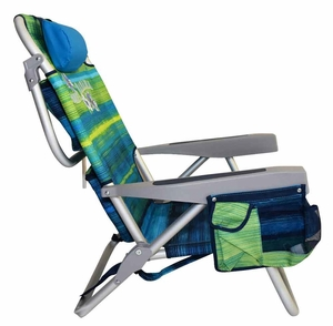 tommy bahama folding beach chair - green stripes