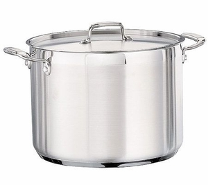 Tramontina 16-qt Pro. Covered Stock Pot with Stainless Lid