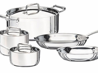 Tramontina 8 PC. TRI-PLY CLAD COOKWARE SET
