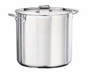 Tramontina Commercial 20 Qt Stock Pot With TriPly Base
