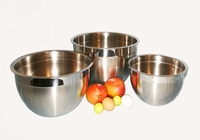 Tramontina Prosessional 3 Piece Stainless Steel Mixing Bowl Set