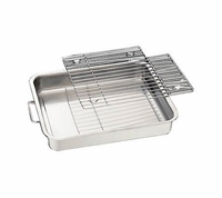 "Tramontina Stainless Steel 15"" Baking / Roasting Pan"