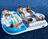 Tropical Inflatable Floating Raff Island