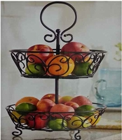 Two Tiered Fruit Basket
