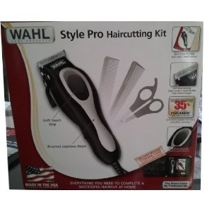 Wahl 19-Piece Complete Haircutting Kit - hair cliper