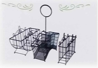 Wrought Iron Buffet Utensil Caddy