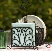 Wrought Iron Picnic serving Caddy