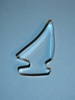 "4"" Sailboat Cookie Cutter"