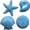 Assorted Sea Creatures Mold by First Impressions Molds  (SC120)