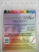 Gourmet Writer Food Decorator Pens Set of 10
