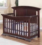 Madison crib java or dark grey