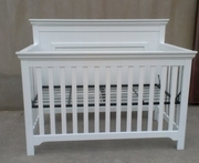 Parker crib white or java