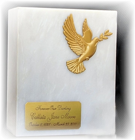 Dove on White Marble SPECIAL PROMOTION $169