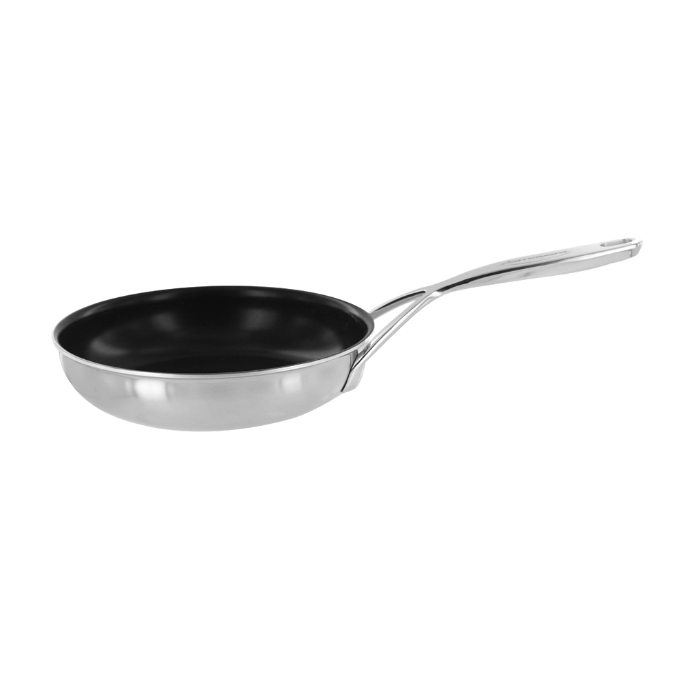 demeyere 5 plus stainless steel 8 non stick fry pan. Black Bedroom Furniture Sets. Home Design Ideas