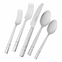 J.A. Henckels International Madison Square 65-pc 18/10 Stainless Steel Flatware Set