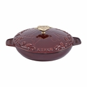 Staub Cast Iron 0.75-qt Tomorrowland Serving Dish - Grenadine