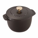 Staub Cast Iron 1.5-qt Petite French Oven - Visual Imperfections - Matte Black
