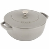 Staub Cast Iron 3.75-qt Essential French Oven - Graphite Grey