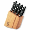ZWILLING J.A. Henckels 9-pc TWIN Gourmet Steak Knife Block Set