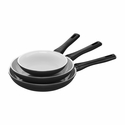 ZWILLING J.A. Henckels Carrara 3-pc Fry Pan Set